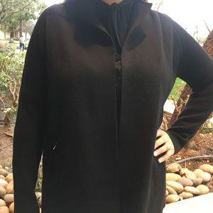 Talbots 100% Merino Wool Jacket LP Black